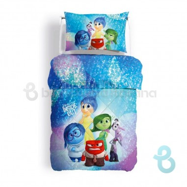 Caleffi Disney Trapunta per Letto Singolo Inside Out