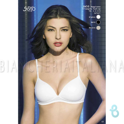 SOÑO SN 56 REGGISENO TRIANGOLO PUSH UP - Biancheria Italiana