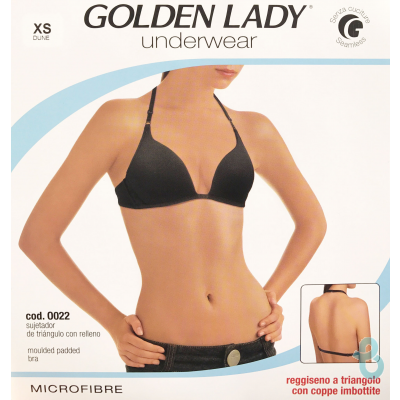 GOLDEN LADY REGGISENO TRIANGOLO O022 - Biancheria Italiana
