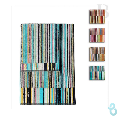 MISSONI HOME SET ASCIUGAMANI 1+1 JAZZ - Biancheria Italiana