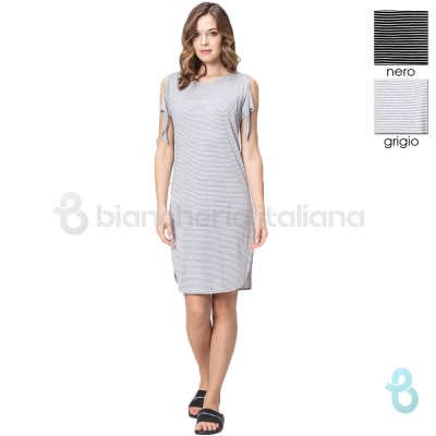 Emporio Armani Short Night Dress 164175-9P254 - Biancheria Italiana