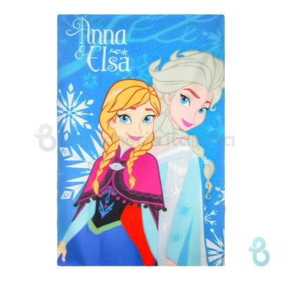 Disney Coperta Plaid In Morbido E Caldo Pile Frozen Anna & Elsa - Biancheria Italiana