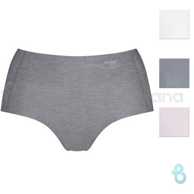 Sloggi Zero Feel Natural Highwaist Brief, Slip Donna - Biancheria Italiana