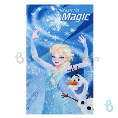 Novia Telo Mare Disney Frozen Magic Elsa 70x140 Cm - Biancheria Italiana