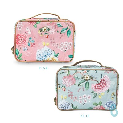 Pip Studio Beauty Case Square Large Floral - Biancheria Italiana