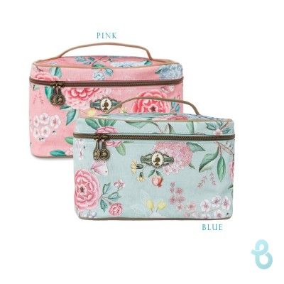 Pip Studio Beauty Case Square Medium Floral - Biancheria Italiana