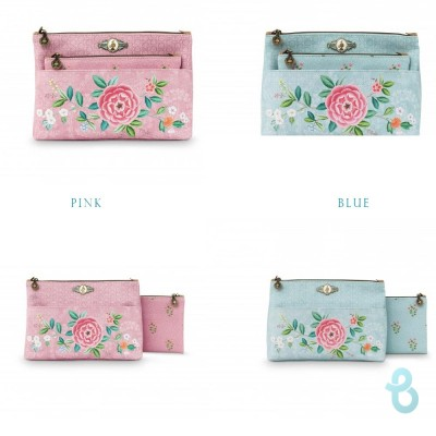 Pip Studio Cosmetic Bag Combi Floral - Biancheria Italiana